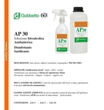 AP 30 pulizia e sanificazione